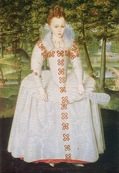 Prince Rupert's mother, Elizabeth, Queen of Bohemia