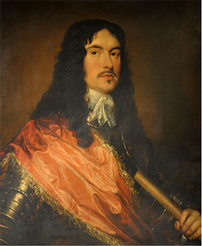 An Unknown Officer, attributed to William Dobson