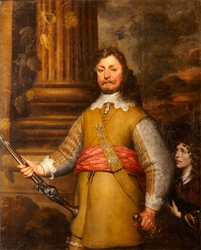 An Unknown Officer, c. 1642-1643, William Dobson
