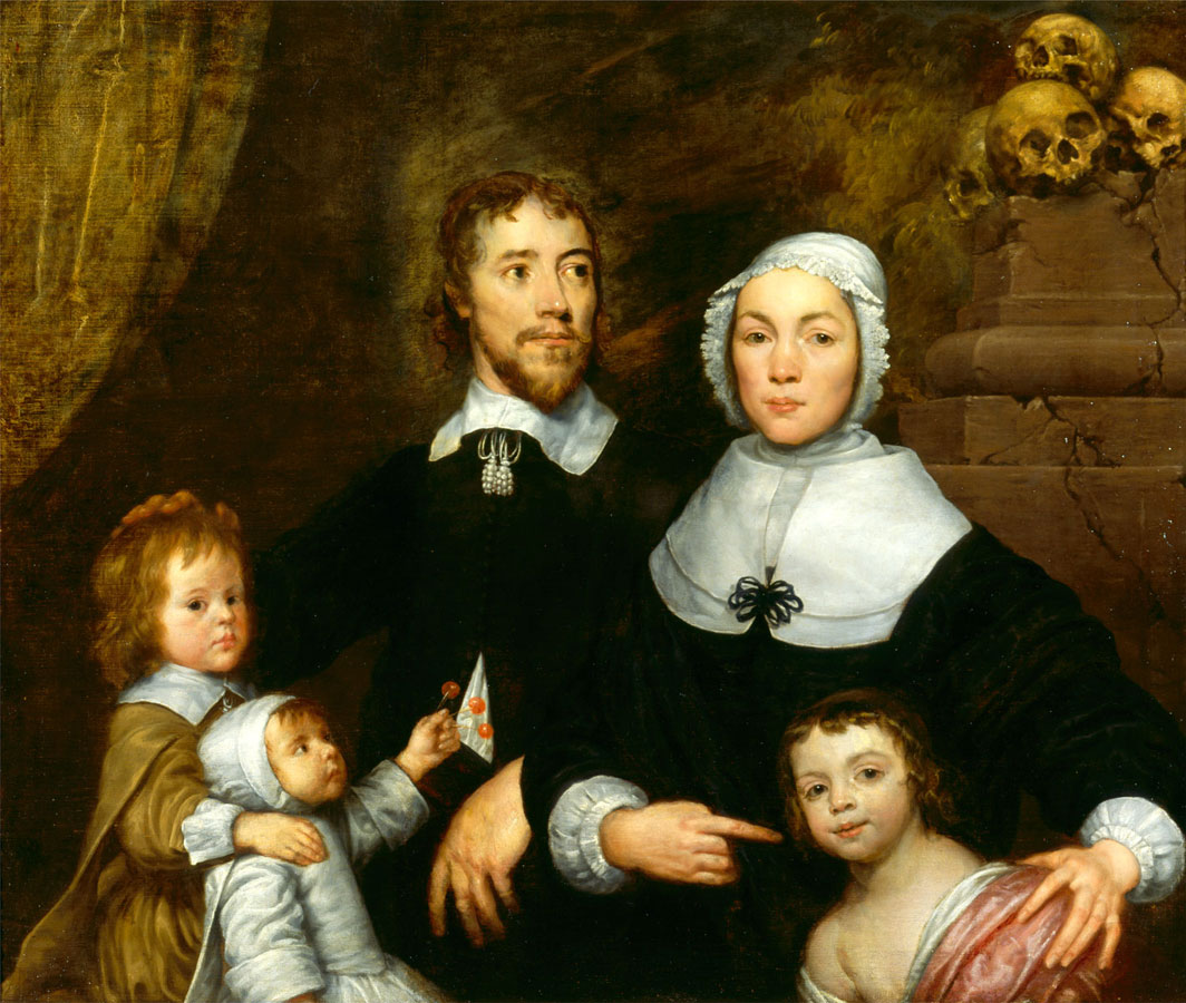 The Streatfield Family (?), c. 1645, in part by William Dobson