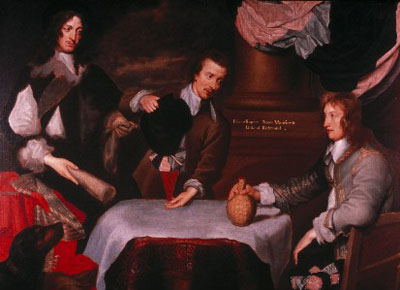 Prince Rupert, Colonel Murray and Colonel Russell, c. 1644, William Dobson